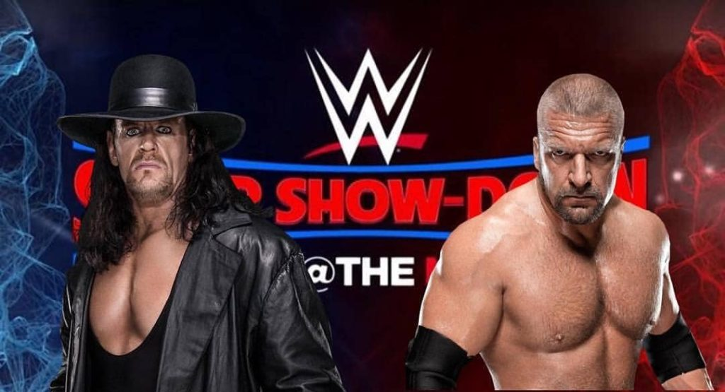 UnderTaker Vs Triple H at MCG Super Show Down