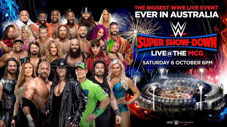 WWE PPV Super Show Down